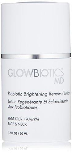 (Glowbiotics MD Probiotic Brightening Renewal Antioxidant Face Lotion, 1.7oz)