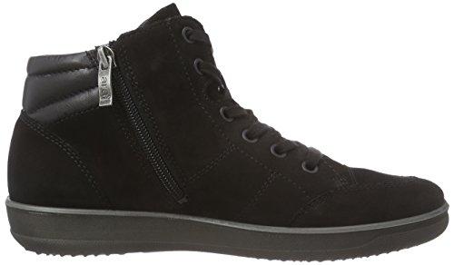 ara Miami Gore Tex - zapatillas deportivas altas de cuero mujer negro - Schwarz (schwarz -01)
