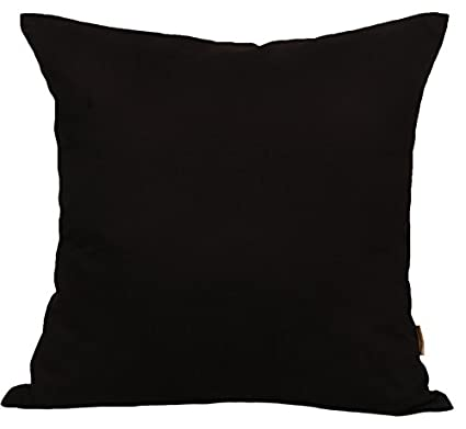 95da77e8f9a Image Unavailable. Image not available for. Color  TangDepot Cotton Solid Throw  Pillow Covers