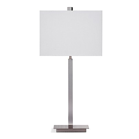 Bassett Mirror Company Alexa Table Lamp in Chrome
