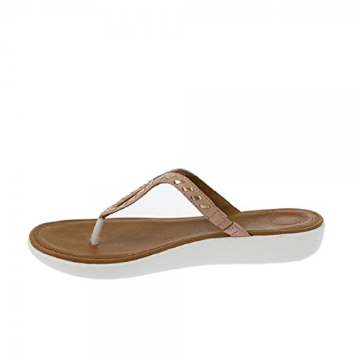 FitFlop Strata Toe-Thong Sandals - Whipstitch Leather Colour: Dusky Pi N8oXSY