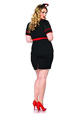 Leg Avenue Women's Plus-Size 3 Piece Naughty Night Nurse