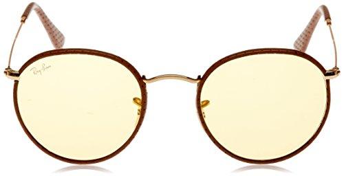 Sonnenbrille Ban Leather 3475Q ROUND Brown Ray Light CRAFT RB AZ5wa5qv