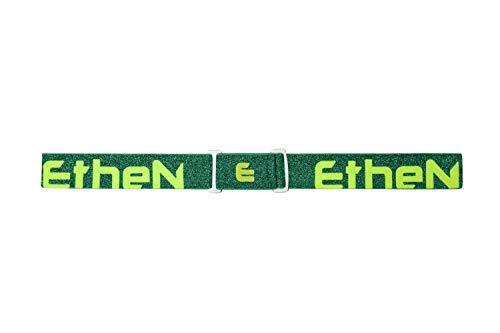 ETHEN ELDR24 JACQUARD ELASTIC LUREX GREEN