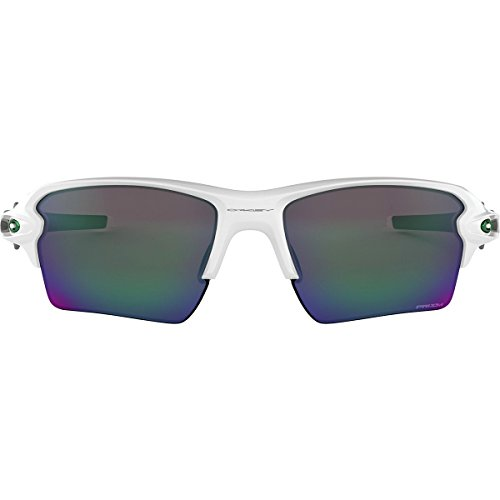 FLAK 2.0 XL - POLISHED WHITE - PRIZM JADE - OO9188-9259