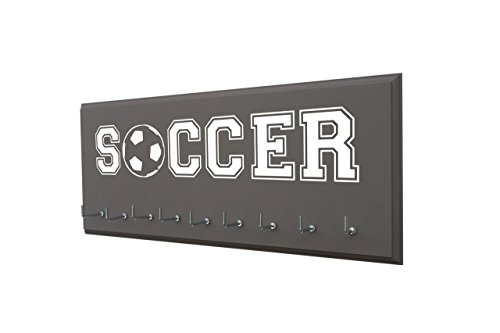 RUNNING ON THE WALL-Soccer Gifts for Athletes-Medal Display Rack-Medal Holder for Soccer Player and - The Wall Running