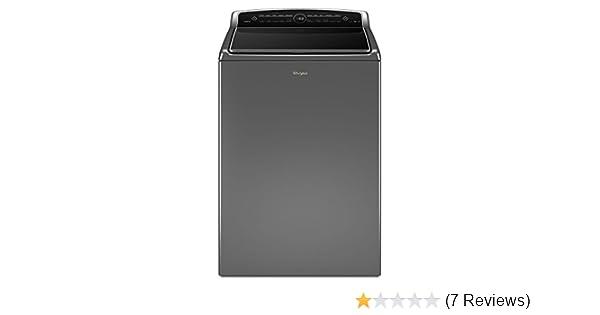 a2734ffb1e8 Amazon.com  Whirlpool WTW8500DC 5.3 cu. ft. Chrome Shadow Cabrio HE Top  Load Washer  Appliances