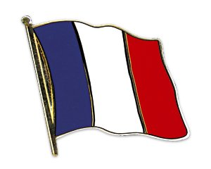 5er Pack Deutschland Frankreich Freundschaftspin Yantec Pin Flagge
