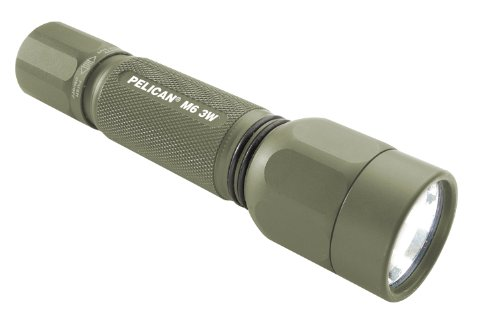 M6 Led Lithium Flashlight (Pelican M6 Flashlight (Green))