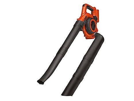 BLACK+DECKER GWC3600LB-XJ - Soplador, aspirador y triturador de hojas 36V, sin cargador ni batería