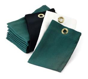 Hunter Green Trifold Cotton Tee Towels - Case of 12 Dozen (144 Towels)