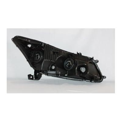 TYC 20-6880-00 Honda Accord Driver Side Headlight Assembly: Automotive