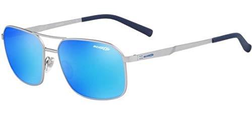 Arnette 0AN3079 Gafas de sol, Silver Rubber, 56 para Hombre ...