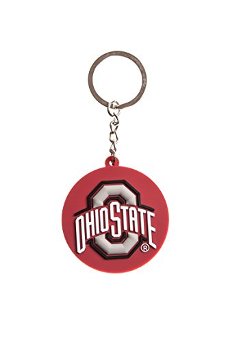 Collegiate Pulse Ohio State Buckeyes NCAA PVC Keychain ()