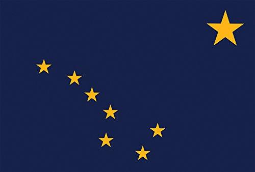 Toland Home Garden Alaska State Flag 12.5 x 18 Inch Decorative USA Garden - Flag Alaska