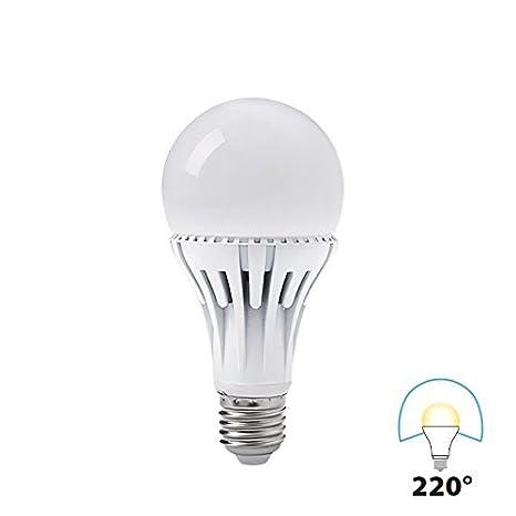 Bombilla LED luz blanca 14 W=1250 lumens Luz 4000 K marca Kanlux - 220°: Amazon.es: Iluminación