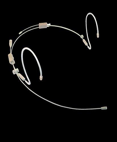 Provider Series PSM1 Dual Ear Professional Headworn microphone for Sennheiser beltpacks (Omni, TAN, 3.5mm locking plug, (Provider Series)