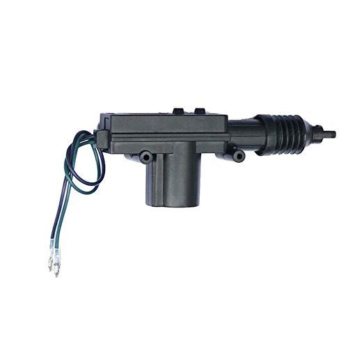 Mouchao Heavy Duty Power Door Lock Actuator Motor 2 Wire 12V Car Locking System Black