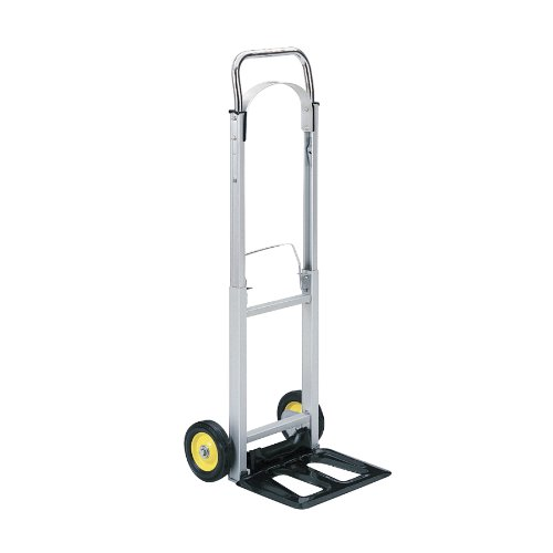 Hideaway Hand Truck (Safco Products 4061 Hide-Away Collapsible Utility Hand Truck, Silver/Black)
