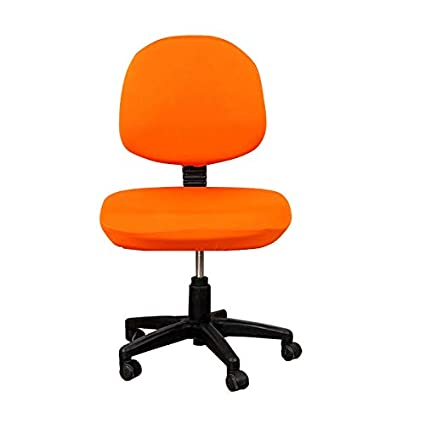 Popular Brand Fashion Office Chair Cover Solid Color Arm Chair Cover Seat Slipcover Stretch Rotating Lift Chair Covers Chair Cover Table & Sofa Linens