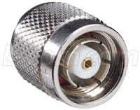 5 Pk BNC Male Plug Crimp RF Coaxial Coax Connector for RG-58 RG141 LMR-195 Cable