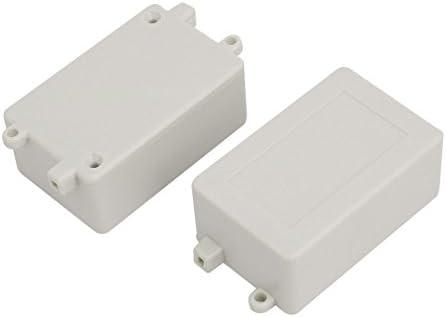 Aexit 70mmx45mmx29mm caja de conexiones eléctrica rectangular de ...