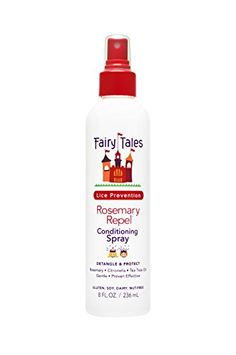 Fairy Tales Rosemary Repel Daily Kid Conditioning Spray for Lice Prevention - 8 (Fairy Hair Brush)