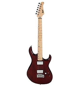 Cort G287 - Guitarra eléctrica serie G - antiguo púrpura Dark: Amazon.es: Instrumentos musicales