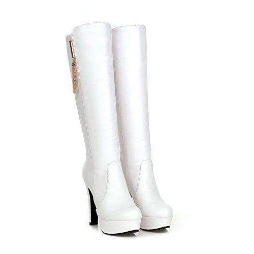Sconosciuto 1TO9Mns01702 - con Plateau Donna, Bianco (White), 35 EU