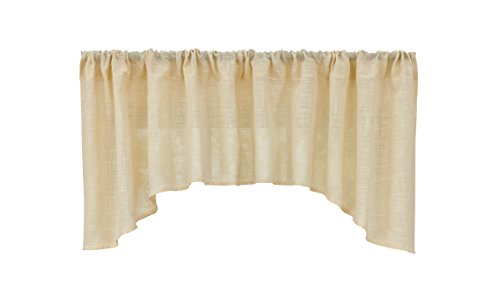 (Park Designs Courtland Jabot Valance 72 x 22 Cream)