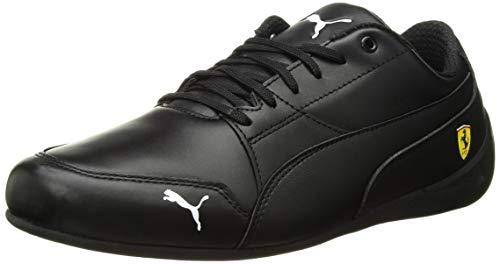 - PUMA Men's Ferrari Drift Cat 7 Leather Stripe Sneaker, Black, 8.5 M US