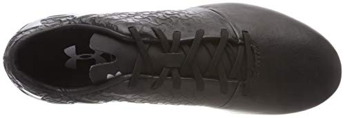 Under Armour Herren UA Magnetico Select Hybrid Fußballschuhe, Schwarz (Black/ Black/ Metallic Silver 001)
