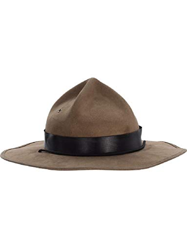 Adults Brown Canadian Mounted Police Mountie Hat Costume Accessory