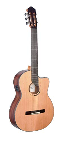 (Angel Lopez ERE-CFI S Eresma Series Acoustic-Electric Classical Guitar)