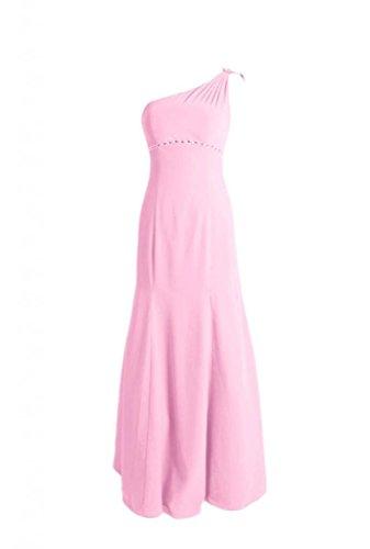 Da Daisyformals W ghiaccio 20 Rosa Perline Vestito Del bm6515 Sera Partito Monospalla Vestito Pavimento Del Lunghezza Del CYqwCRZ