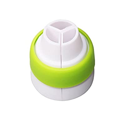 OPPOHERE 3-Color Icing Piping Bag Russian Nozzle Converter Coupler Cake Decorating Tool