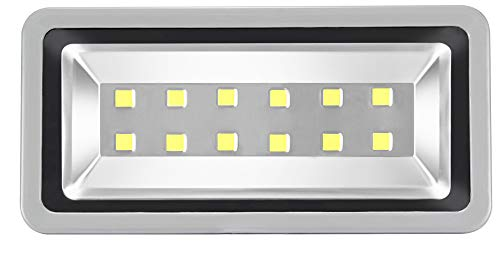 SZPIOSTAR 400W Outdoor LED Flood Lights 3 Years Warranty PSW400 Super Bright 40000lm Cool White 6000K Waterproof Security Light Fixtures 50,000 Hrs Lifetime