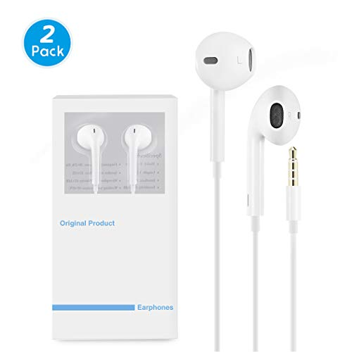 Earbuds/Earphones/Headphones, Premium in-Ear Wired Earphones with Remote & Mic Compatible iPhone 6s/plus/6/5s/se/5c/iPad/Samsung/MP3 MP4 MP5,mtc1