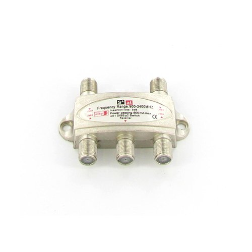 DiSEqC Satellite Switch 4x1 2.0 FTA Receiver Dish LNB