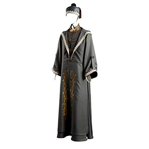 Hibuyer Men's Grand Wizard Costume Deluxe Adult Halloween Fancy Dress (Small)]()