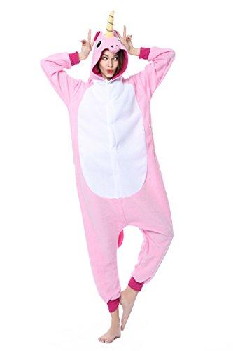 [Sinism Unisex Kigurumi Pajamas Costumes Pegasus Cosplay Sleepwear for Halloween Carnival Birthday Party (M,] (Pegasus Carnival Costumes)