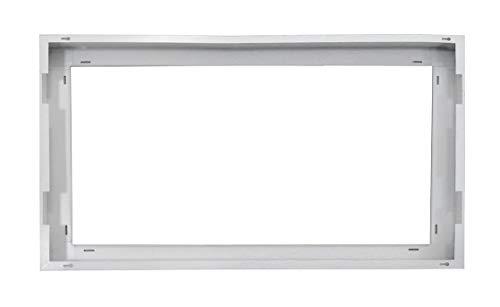 ASD 2x4 FT Flat Panel LED White Surface Mounting Frame Kit Low ()