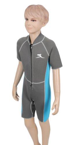 Kinder Neopren Shorty 11 - 13 Jahre 2 mm Neoprenanzug Surfanzug Bade Anzug