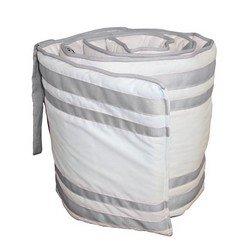 Soho Cradle Bumper, color: Grey, size: 15x33