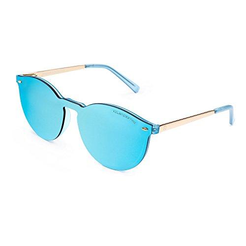Hombre Way amp; Gafas Loop Azul Espejo Mujer Azul amp; CLANDESTINE de Sol Loop gOfAFq