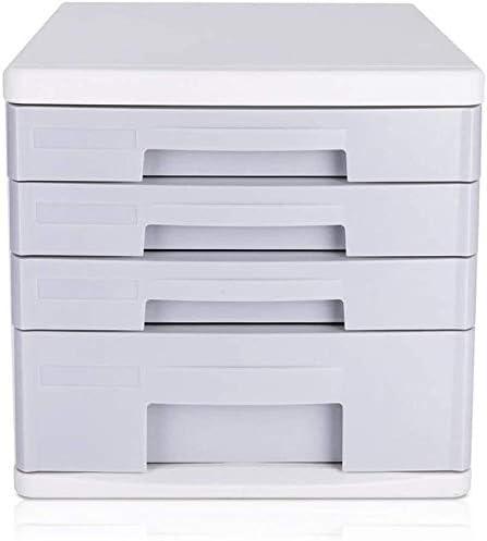オフィス収納キャビネットデスクトップのファイルキャビネット4層デスクトップアーカイブファイリングキャビネット