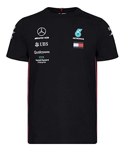 素敵な [ Mercedes AMG ブラック ] メルセデス Team AMG ペトロナス AMG F1 Team 2019 オフィシャル レプリカ Tシャツ B07QK4RX96 M身幅52cm着丈68cm|ブラック ブラック M身幅52cm着丈68cm, 注文割引:2fa25522 --- test.ips.pl