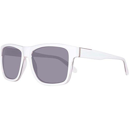 GUESS Unisex GU68825622A - White Guess Frame Sunglasses