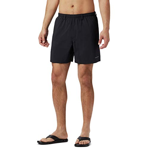 Columbia Men's PFG Backcast III Water Short , Black, Large x 6