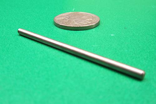 Oversized 18-8 Stainless Steel Dowel Pin 3//32 Diameter x 2.00 Length 25 Pcs